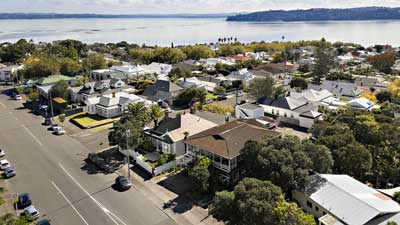 Herne Bay Suburb in Auckland, New Zealand