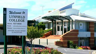 Lynfield College in Auckland Central, New Zealand