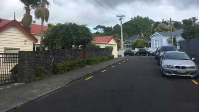Morningside Suburb in Auckland Central, New Zealand