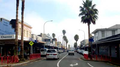 Great South Road in Ōtāhuhu, Auckland Central NZ