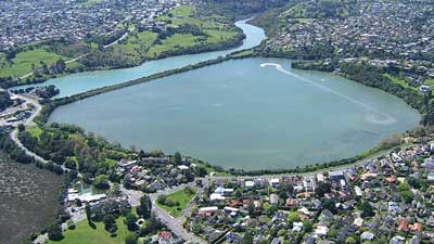 Orakei Bay in Auckland Central, New Zealand